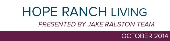 Hope Ranch October 2014 header